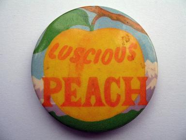 Luscious Peach badge