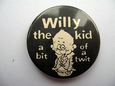 Willy The Kid badge