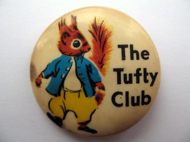 The Tufty Club membership badge
