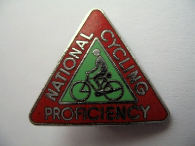 National Cycling Proficiency badge