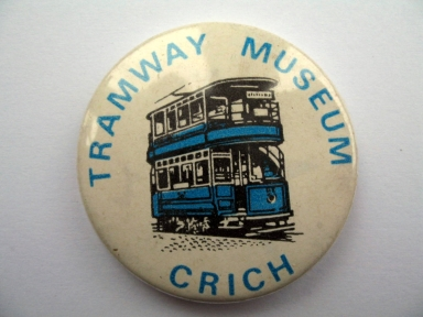 Crich Tramway Museum badge