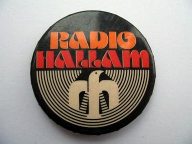 Radio Hallam badge