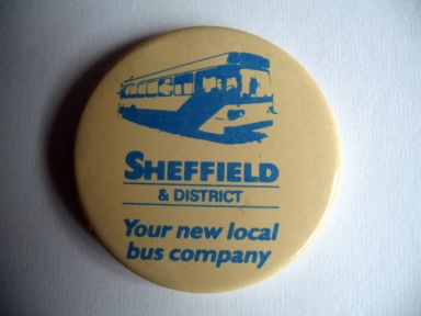 Sheffield and District Bus Company badge