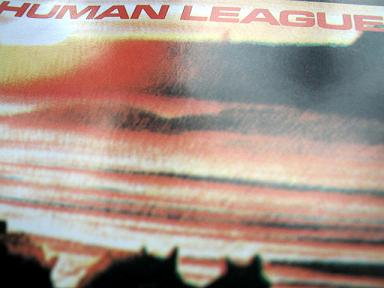 Human League - 'Travelogue' cover detail