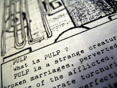 Pulp in 'Step Inside My Pepperpot' fanzine, March 1987
