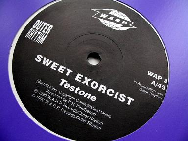 Sweet Exorcist - 'Testone' label