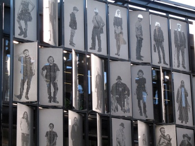 Everyman Theatre portrait wall, Liverpool
