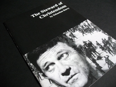 Programme for 'The Steward of Christendom' by Sebastian Barry, 1995