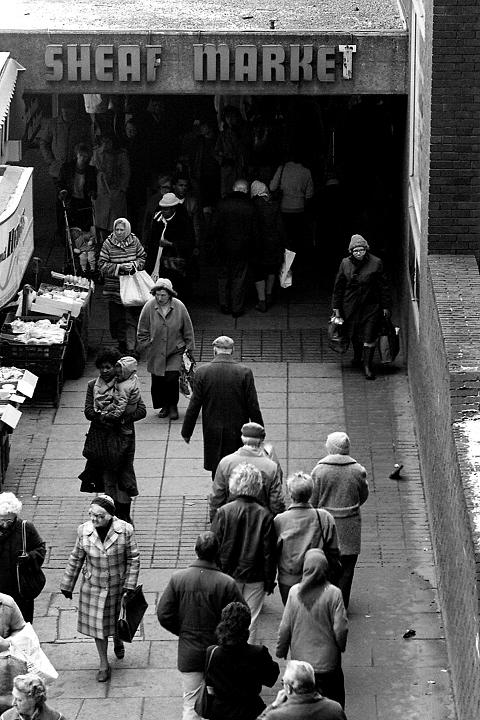 Sheffield Sheaf Market, 1986