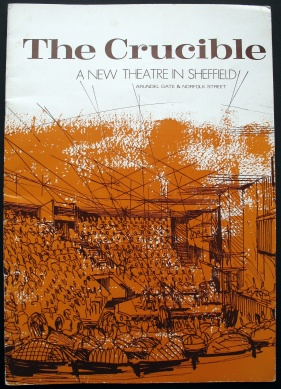 Fundraising brochure for the Crucible Theatre, Sheffield, 1970