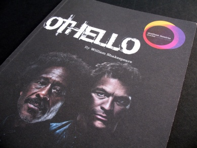 Othello programme from the Crucible Theatre, Sheffield, 2011