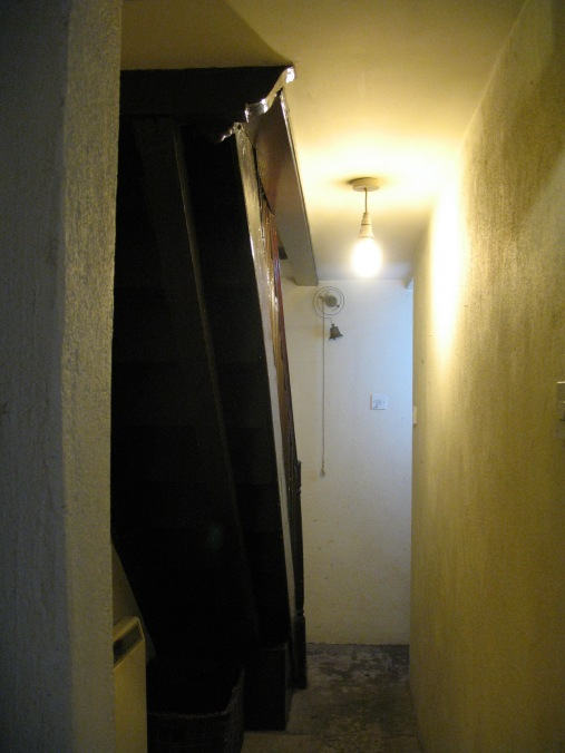 The Curfew Tower, dungeon corridor