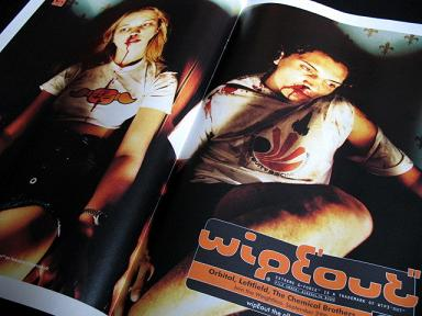 'Wipeout' press advertising