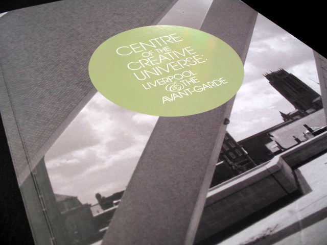 'Centre of the Creative Universe' exhibition catalogue, published by Tate Liverpool