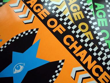 Age of Chance record sleeves by The Designers Republic
