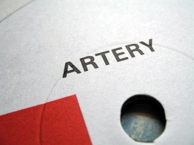 Artery - 'Oceans' label detail