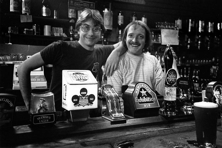 Leadmill bar, Sheffield, 1986