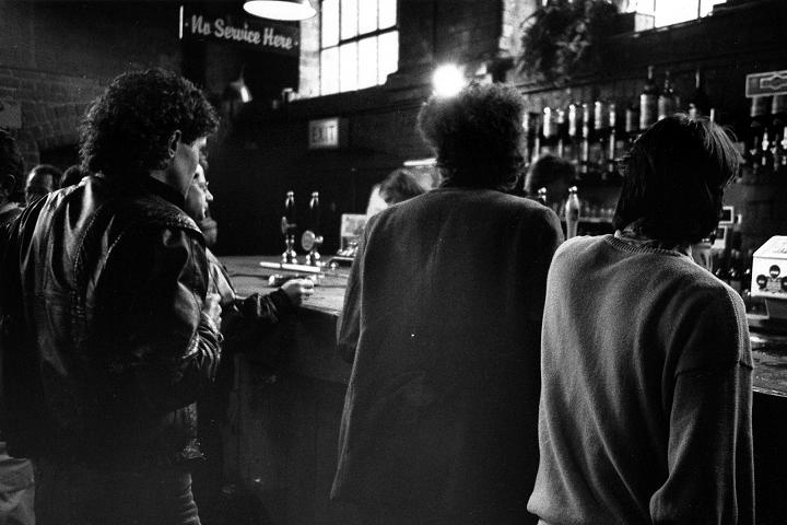 Leadmill bar, Sheffield, 1986