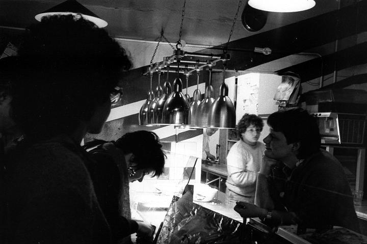 Leadmill cafe, Sheffield, 1986