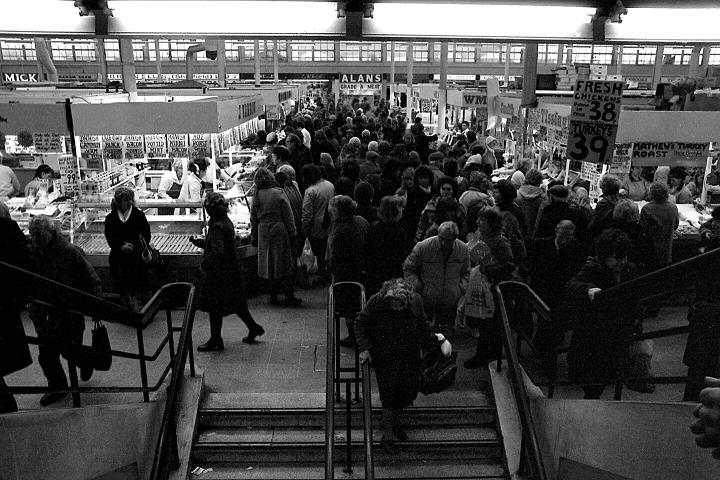 Sheffield markets, 1986