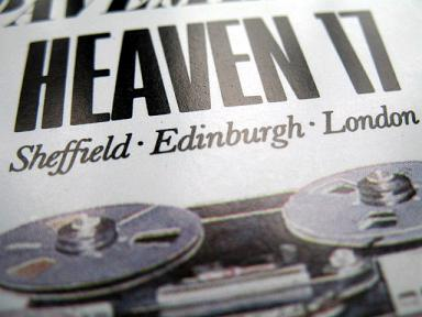 Heaven 17 - 'Penthouse And Pavement' cover detail