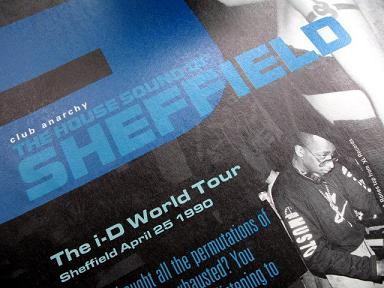 The house sound of Sheffield - i-D magazine, July 1990