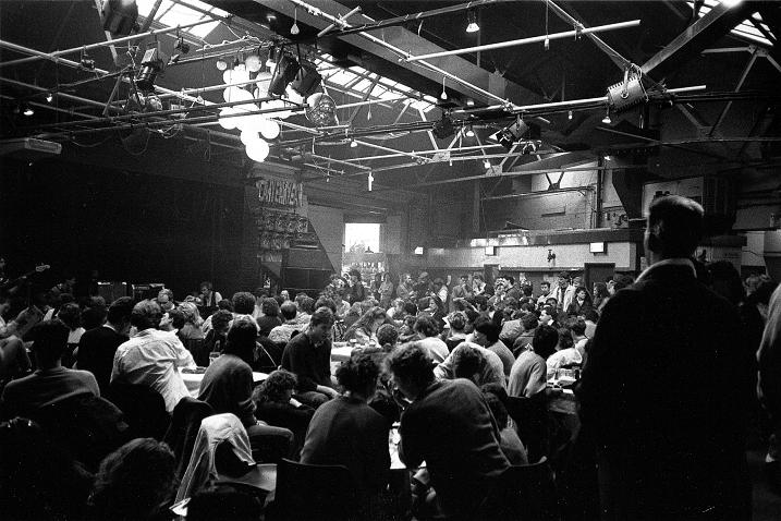 Leadmill main room, Sheffield, 1986