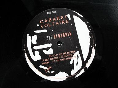 Cabaret Voltaire - 'Sensoria' label