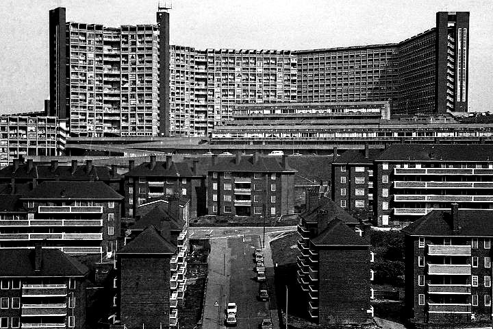 Hyde Park flats, Sheffield, 1987