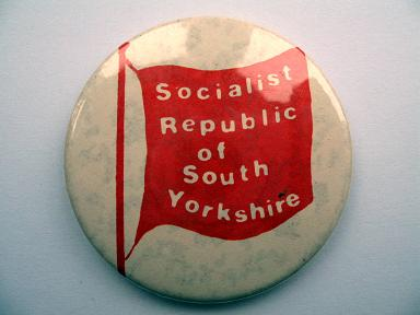 Socialist Republic of South Yorkshire badge
