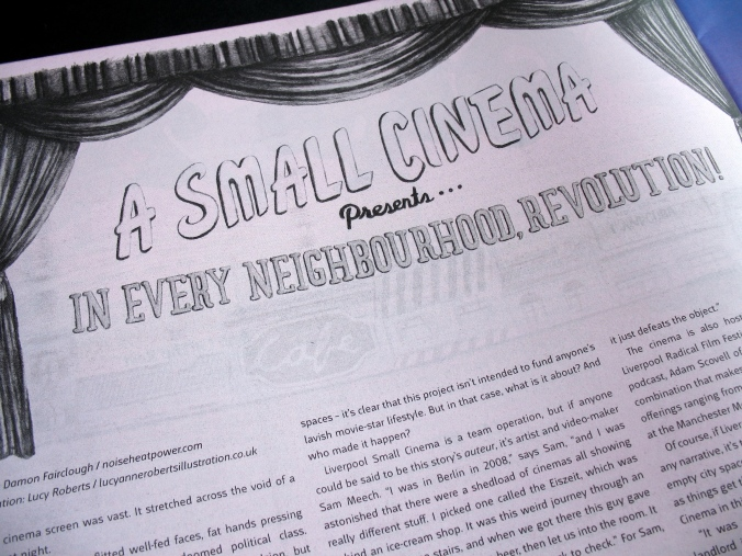 Liverpool Small Cinema in Bido Lito magazine