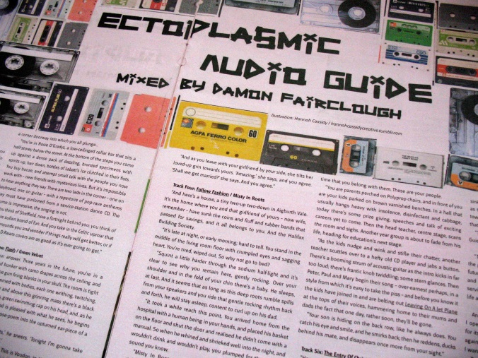 'The Ectoplasmic Audio Guide' in Bido Lito magazine