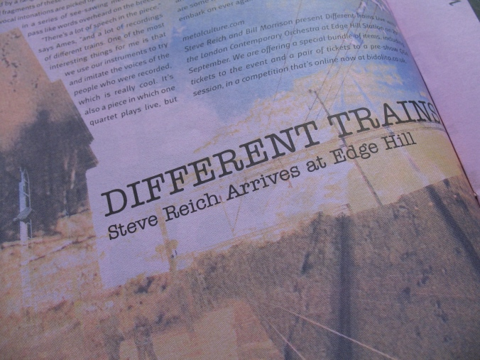 Interview with Robert Ames about Steve Reich's 'Different Trains'