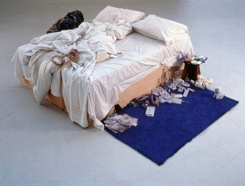 My Bed by Tracey Emin, 1998