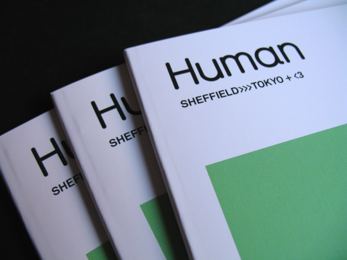 Human Studio exhibition catalogue: Sheffield to Tokyo with love, 2015