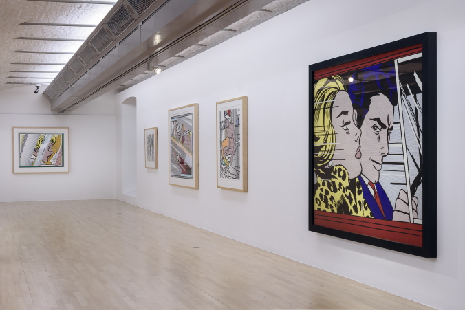 ARTIST ROOMS: Roy Lichtenstein in Focus on display at Tate Liverpool